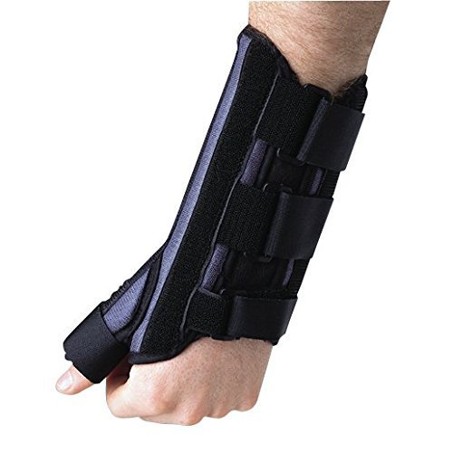 Breg Wrist Cock-Up Splint W/Thumb Spica, Right, S Part #10302 by Breg (Image #1)