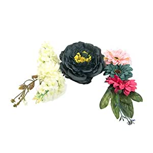 Decorative Artificial Flowers Set Wedding Home Party European Style Artificial Flowers 1set/3pcs