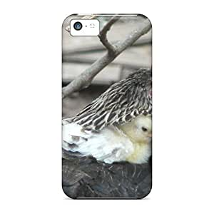 fenglinlinROm597NuCU Anti-scratch Cases Covers 88caseme Protective Silky Hen With Chick Cases For iphone 4/4s
