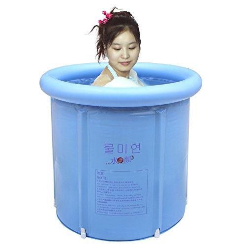 Happy Life Portable Plastic Bathtub Blue Buy Online In