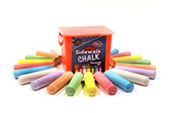 Chalk City - 20 Piece Jumbo Washable Sid...