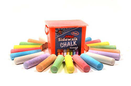 - Regal Games Chalk City - 20 Piece Jumbo Washable Sidewalk Chalk