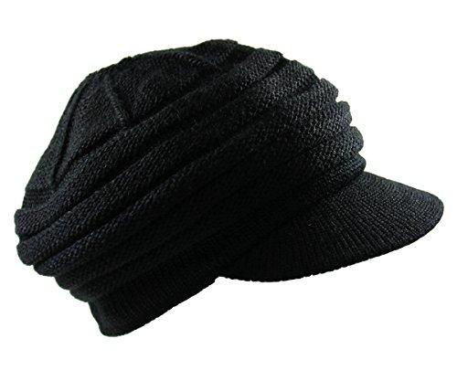Knit Slinky Newsboy Cap (Slinky Cap)