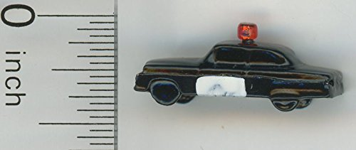 Dollhouse Miniature Children039;s Toy Police Car by Island Crafts & Miniatures
