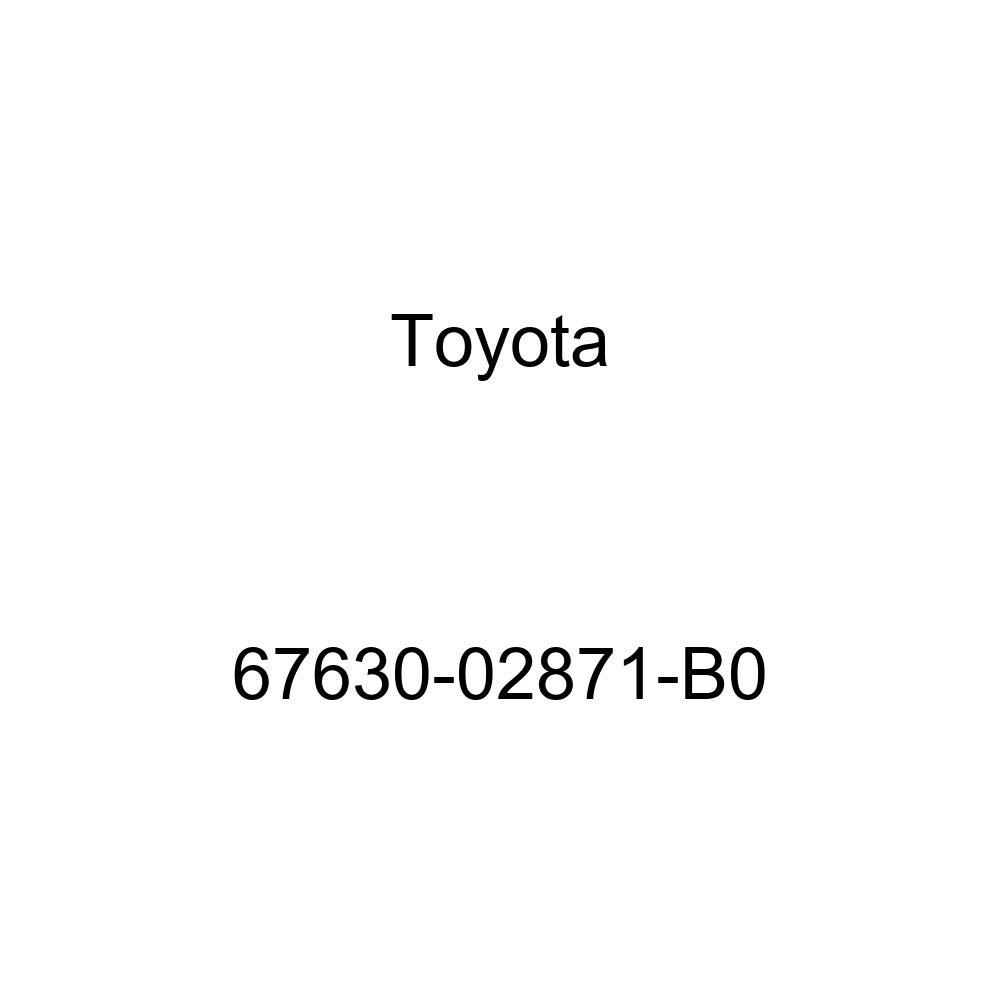 Genuine Toyota 67630-02871-B0 Door Trim Board