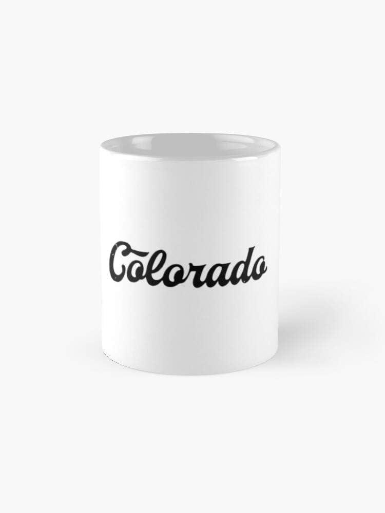 Colorado - Mug,Ceramic Coffee Cup,Tea Cup 11oz Funny Gift Coffee Tea Mug