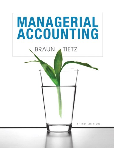 Managerial Accounting (3rd Edition)