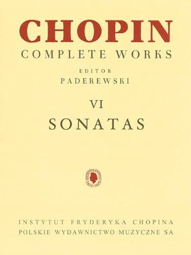 Download Sonatas: Chopin Complete Works Vol. VI (Fryderyk Chopin Complete Works) pdf epub