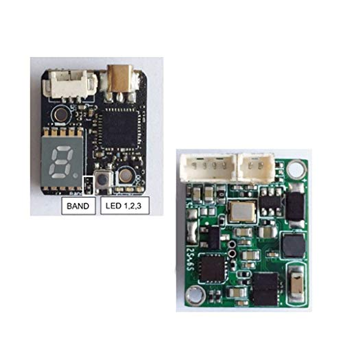 Shoresu 0-200mw Transmitter, Hawkeye Firefly Fortress 2.1mm 4:3 16:9 Micro FPV Camera 1-6S 5.8G 0-200mw Transmitter VTX AIO for RC Models