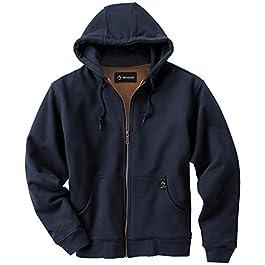 DRI Duck Men's Crossfire Hooded Fleece Jacket