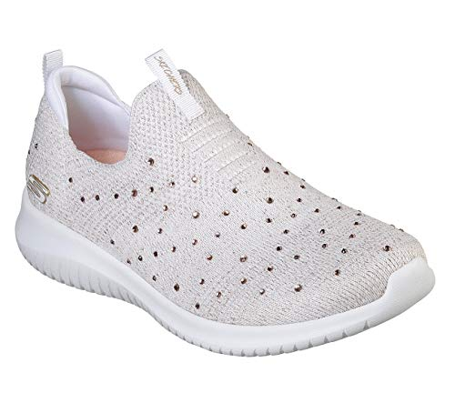 Gold Donna Bianco Flex Skechers Infilare Ultra Rose Sneaker Up white Wtrg thrive nYv0OT0xw
