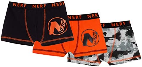 Nerf Jungen Boxershorts Camouflage Unterwäsche Slips Boxershorts (3 Stück)
