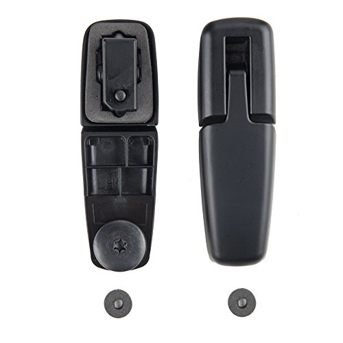 OrionMotorTech Rear Liftgate Glass Window Hinge Right & Left for 2001-2007 Ford Escape 2005-2007 Mercury Mariner, OEM YL8Z78420A68BA & YL8Z78420A69BA Rear Left Window