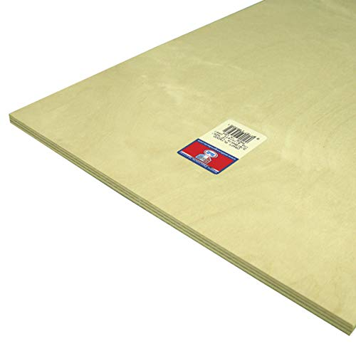 Craft Plywood 3/8'' x 12'' x 24'' by Midwest Products Co.
