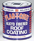 Plas T Cote - Alkyd Fibered Roof Coating, White Gallon - 45128-4