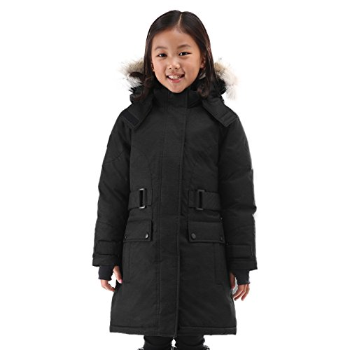 Triple F.A.T. Goose Isella Girls Down Jacket (8, Black) by Triple F.A.T. Goose