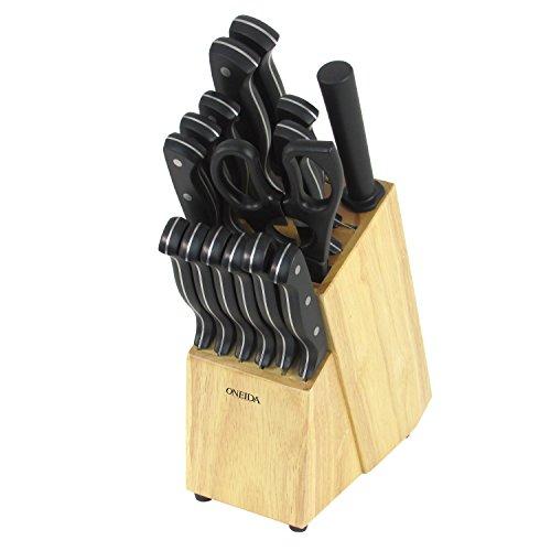 Oneida 16-pc. Triple Rivet Knife Block - Knife Stainless Oneida Steel Set