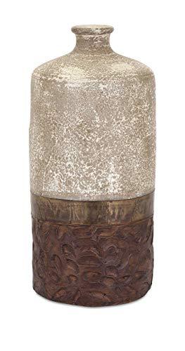 (IMAX 73401 Sabah Terracotta Vase, Large)