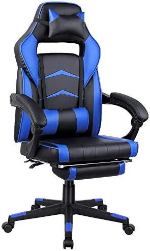 MVPower Gaming Chair Reclining Racing Chair