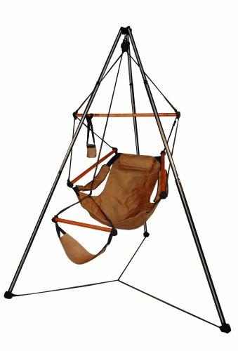 Hammaka Tripod Stand And Hammaka Chair Combo - Wooden Dowels, - Stand Hammock Tripod