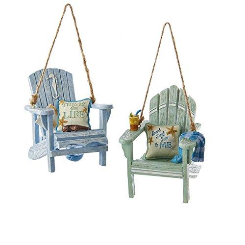 Beach Chairs Ornaments