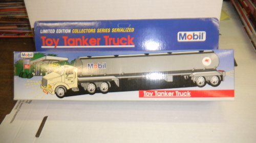 - 1993 Mobil Toy Tanker Truck; Limited Edition; Collectors Series
