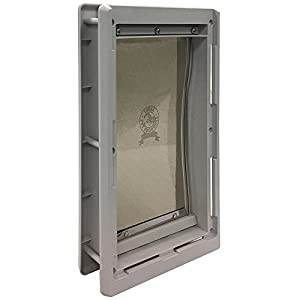 Ideal Pet Products Designer Series Plastic Pet Door with Telescoping Frame, Medium, 7″ x 11.25″ Flap Size Click on image for further info.