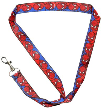 WeGlow International Marvel Spiderman Lanyard (Set of 3)