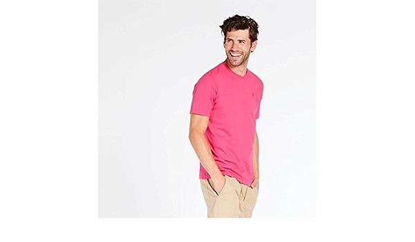 UP Camiseta Fucsia Hombre Basic (Talla: M) : Amazon.es: Ropa
