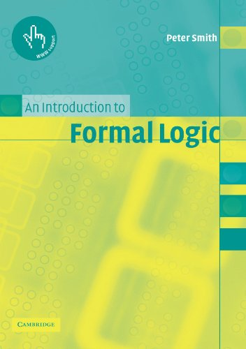 An Introduction to Formal Logic
