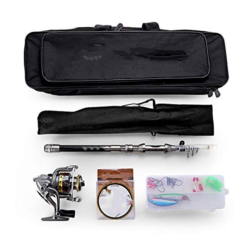 Old street 1.5/1.8/2.1/2.4M Telescopic Fishing Rod for sale  Delivered anywhere in USA