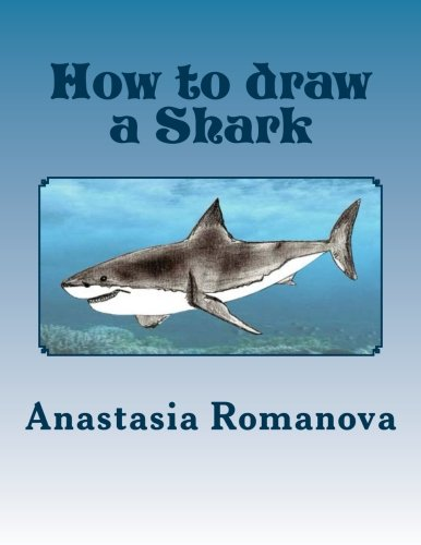 How to draw a Shark: For children