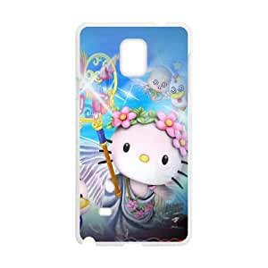 Samsung Galaxy Note 4 Case Covers White Hello Kitty I4SO