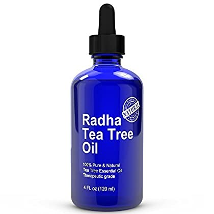Radha Beauty Tea Tree Essential Oil 4 oz - 100% Pure and Natural