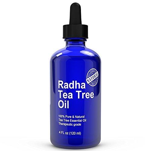 Radha Beauty Tea Tree Essential Oil 4 Oz 100 Pure Therapeutic Grade