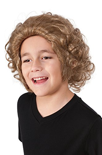 Rubie's Boys Willy Wonka Wig