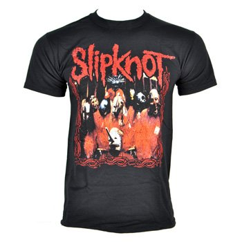 Slipknot Men's Band Frame T Shirt - Medium, - Uk Clothing Frame