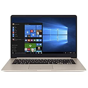 ASUS VivoBook S15 S510UN Intel Core i5 8th Gen 15.6-inch FHD Thin & Light Laptop (8GB RAM/1TB HDD + 128GB SSD/Windows 10/2GB NVIDIA GeForce MX150 Graphics/Gold/1.70 Kg), S510UN-BQ070T