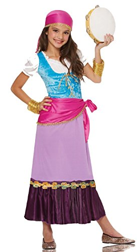 Costume Culture Women's Pretty Gypsy Girl's Costume, Multi, Large -