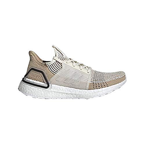 adidas Women's Ultraboost 19, Chalk White/Pale Nude/Black, 6 M US ()