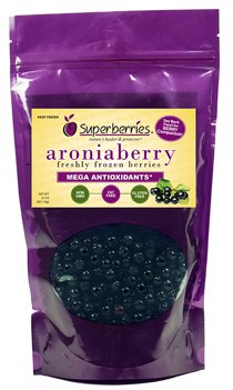 Fresh-frozen Aroniaberries (Chokeberry), 32 Oz. Package