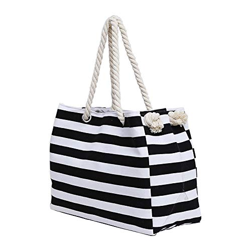 C Shopping Handbag Beach Shoulder Bag Bag Vhvcx String Fashion Stripe Large Ruvida Wild String Mano UpqSMVGz