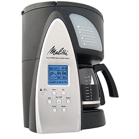 Amazon.com: Melitta me1msb Cafetera programable de Smart ...