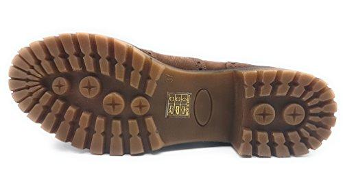 à Marron pour lacets femme ville de Lince Chaussures gta1RR