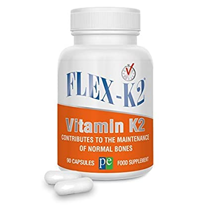 Flex-K2 100 mcg de vitamina K2 (MK-7) - 90 cápsulas