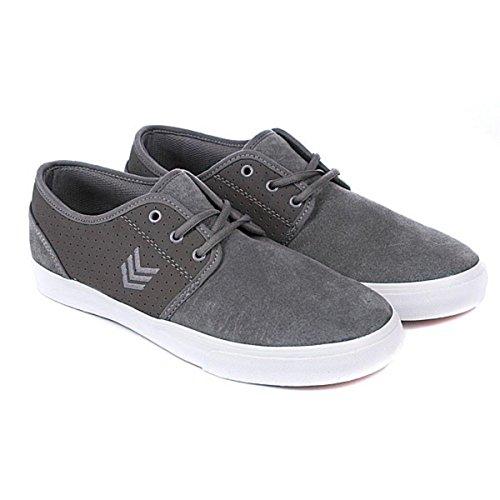 Vox Skate Shoes Slaker Grey White