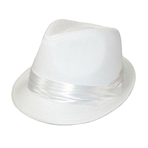 Kenny K Mens Wedding Dress Formal Fedora Hat, 2XL, (Designer Dress Hat)