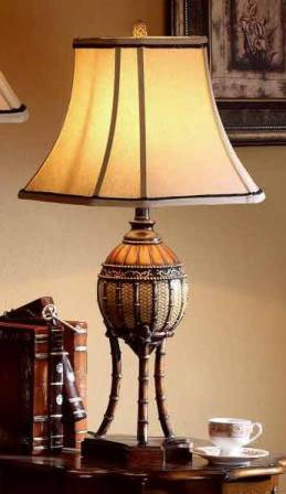 Antique Brass Bahama Collection Table Lamp