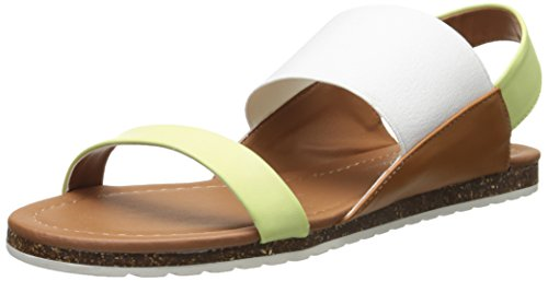 Coconuts by Matisse Womens Wham Wedge Sandal Lime Multi 5Rwna