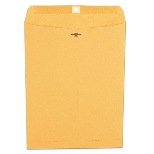 (Universal 35267 Kraft Clasp Envelope, Center Seam, 28lb, 10 x 13, Brown Kraft, 100/Box)